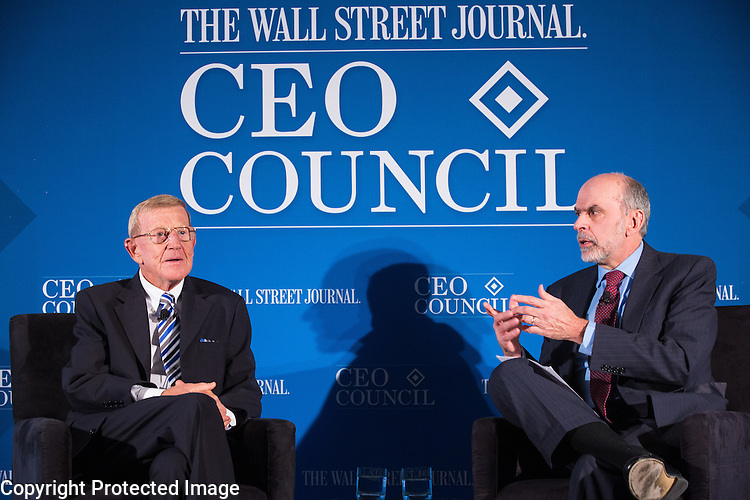 Wall Street Journal CEO Council on Tuesday November 17th, 2015. Photo by Ralph Alswang.