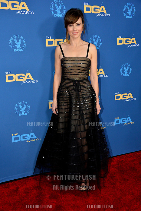 LOS ANGELES, CA. February 02, 2019: Linda Cardellini at the 71st Annual Directors Guild of America Awards at the Ray Dolby Ballroom.<br /> Picture: Paul Smith/Featureflash