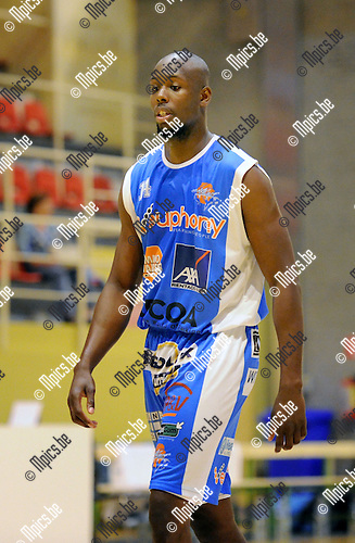 2013-09-10 / Basketbal / seizoen 2013-2014 / Kangoeroes Willebroek / Deshawn Painter<br />