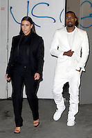PAP0313443.DIESEL PARTY.-KANYE WEST AND KIM KARDASHIAN