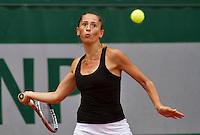 France, Paris, 27.05.2014. Tennis, French Open,Roland  Alexandra Cadantu (ROU)<br /> Photo:Tennisimages/Henk Koster