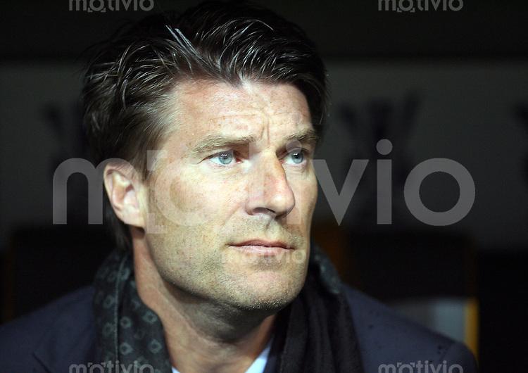 Fussball   UEFA Cup    Viertelfinale   Saison 2007/2008 FC Bayern Muenchen   - FC Getafe                        03.04.2008 Getrafe Trainer Michael Laudrup