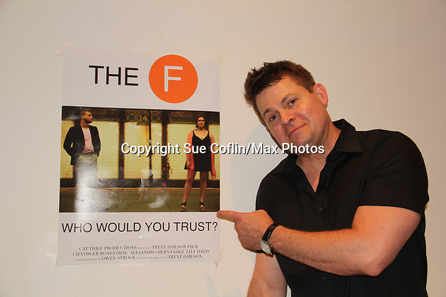 "As The World Turns' Trent Dawson wrote ""The F"" held a Benefit for the film on June 22, 2018 at the Freeman Studio, New York City, New York. (Photo by Sue Coflin/Max Photo)"