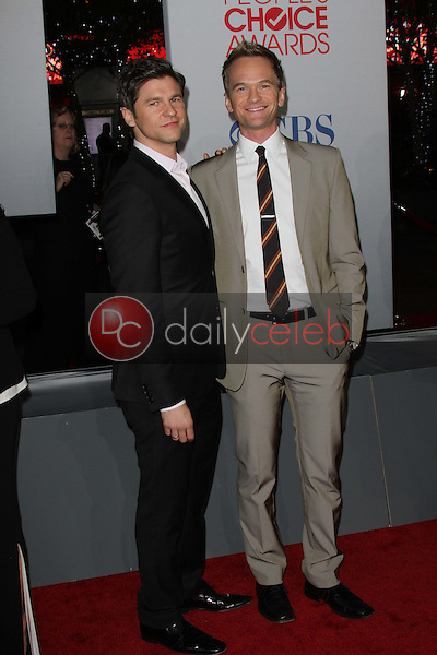 Neil Patrick Harris and David Burtka<br />