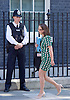 Cabinet meeting arrivals <br /> Downing Street, London, Great Britain <br /> 19th July 2016 <br /> <br /> New members of the Cabinet <br /> arriving ahead of the first cabinet meeting chaired by Theresa May <br /> <br /> <br /> The Rt Hon<br /> Baroness Evans of Bowes Park<br /> Leader of the House of Lords, Lord Privy Seal<br /> <br /> <br /> Photograph by Elliott Franks <br /> Image licensed to Elliott Franks Photography Services