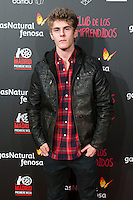 "Patrick Criado attend the Premiere of the movie ""El club de los incomprendidos"" at callao Cinema in Madrid, Spain. December 1, 2014. (ALTERPHOTOS/Carlos Dafonte) /NortePhoto<br />