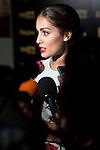 Hiba Abouk event ambassador Fox Life Save the Date in Marieta Madrid. 22 September 2015.<br /> (ALTERPHOTOS/BorjaB.Hojas)