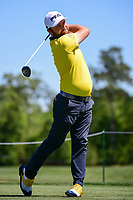 Andy Sullivan (ENG) watches his tee shot on 3 during round 1 of the Shell Houston Open, Golf Club of Houston, Houston, Texas, USA. 3/30/2017.<br /> Picture: Golffile | Ken Murray<br /> <br /> <br /> All photo usage must carry mandatory copyright credit (&copy; Golffile | Ken Murray)