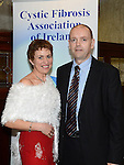 John and Jenny O'Donohoe pictured at the 65 Roses ball in the Grove hotel. Photo:Colin Bell/pressphotos.ie