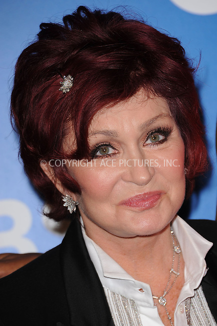 WWW.ACEPIXS.COM . . . . . .May 16, 2012...New York City....Sharon Osbourne attends the 2012 CBS Upfronts at The Tent at Lincoln Center on May 16, 2012 in New York City.on May 16, 2012  in New York City ....Please byline: KRISTIN CALLAHAN - ACEPIXS.COM.. . . . . . ..Ace Pictures, Inc: ..tel: (212) 243 8787 or (646) 769 0430..e-mail: info@acepixs.com..web: http://www.acepixs.com .