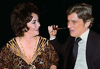 Elizabeth Taylor and John Warner Undated<br /> Photo By John Barrett/PHOTOlink/MediaPunch