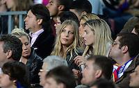 FUSSBALL  CHAMPIONS LEAGUE  HALBFINALE  RUECKSPIEL  2012/2013      FC Barcelona - FC Bayern Muenchen              01.05.2013 Sarah Brandner (Freundin von Bastian Schweinsteiger) zu Gast auf der Tribuene