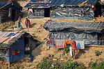 A section of the Jamtoli Refugee Camp near Cox's Bazar, Bangladesh. More than 600,000 Rohingya refugees have fled government-sanctioned violence in Myanmar for safety in this and other camps in Bangladesh.