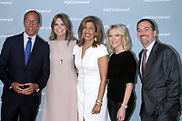NEW YORK, NY - MAY 14: Lester Holt, Savannah Guthrie, Hoda Kotb, Megyn Kelly, Chuck Todd at the 2018 NBCUniversal Upfront at Rockefeller Center in New York City on May 14, 2018.  <br /> CAP/MPI/RW<br /> &copy;RW/MPI/Capital Pictures