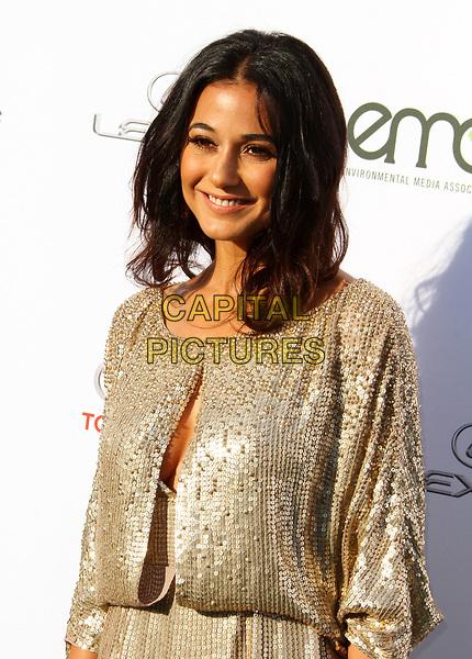 23 September 2017 - Santa Monica, California - Emmanuelle Chriqui. 27th Annual EMA Awards Hosted by Jaden Smith held at Barker Hangar In Santa Monica.  <br /> CAP/ADM<br /> &copy;ADM/Capital Pictures
