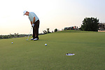 Damien McGrane out on course during Practice Day 1 of the Dubai World Championship, Earth Course, Jumeirah Golf Estates, Dubai, 23rd November 2010..(Picture Eoin Clarke/www.golffile.ie)