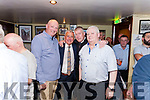 The Garry McMahon 11th. Annual Singing Weekend was officially opened last weekend in The Ramble Inn Abbeyfeale by Kerry football legend Ogie Moran. Pictured with Ogie Moran are locals Maurice Sheehan, Jack Ryan & Philip Enright.