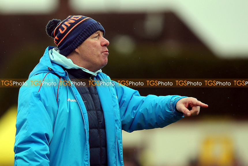 Sutton United's Head Coach, Ian Baird during Sutton United  vs Leeds United, Emirates FA Cup Football at the Borough Sports Ground on 29th January 2017
