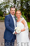 Natasha O'Mahony and Kenneth O'Meara  were married at  Balloonagh Church on Saturday 19th September with a reception at the Meadowlands Hotel