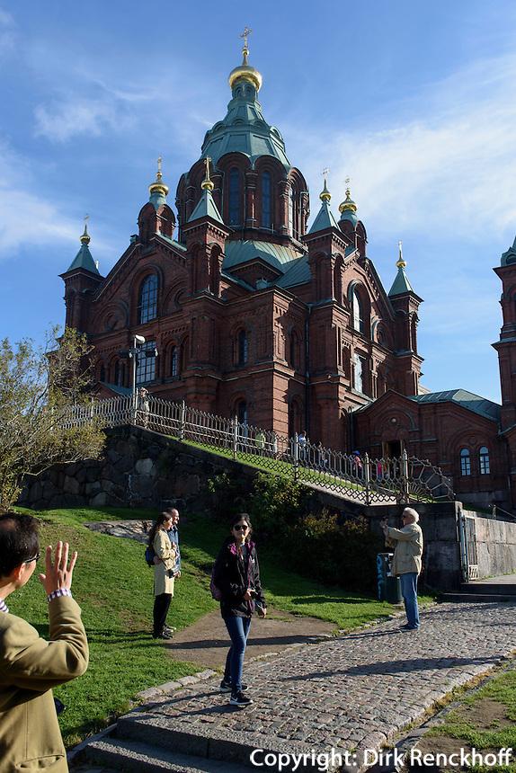 Orthodoxe Uspenski-Kathedrale, Helsinki, Finnland