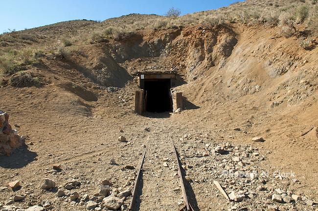 Burro Schmidt Tunnel entrance