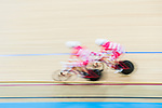 Niklas Larsen and Casper Von Folsach of Denmark compete in the Men's Madison 50 km Final during the 2017 UCI Track Cycling World Championships on 16 April 2017, in Hong Kong Velodrome, Hong Kong, China. Photo by Marcio Rodrigo Machado / Power Sport Images