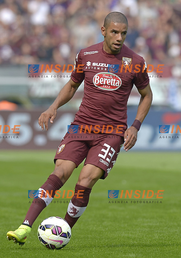 Bruno Peres Torino,<br /> Torino 28-09-2014, Stadio Olimpico, Football Calcio 2014/2015 Serie A, Torino-Fiorentina, Foto Filippo Alfero/Insidefoto