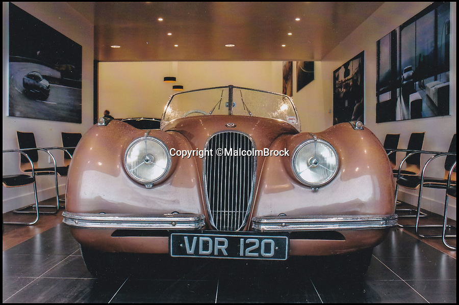 BNPS.co.uk (01202 558833)Pic: MalcolmBrock/BNPS<br /> <br /> The 1951 Jaguar pictured last year.<br /> <br /> A pensioner who paid less than £200 for a classic Jaguar has decided to sell the car after 50 years of ownership, with experts tipping it to collect as much as £100,000.<br /> <br /> Malcolm Brock first bought his 1951 XK120 roadster as a fresh faced 19-year-old in 1969. He paid just £180 for the car and instantly fell in love with it's charm.<br /> <br /> Since then the car has been like a loyal friend to Malcolm and he holds several happy memories in it, including it carrying his daughter to her wedding over twenty years ago.<br /> <br /> Malcolm, 68, has competed in the convertible in a number hill climbing events, and also used it as his everyday run-around for several years.