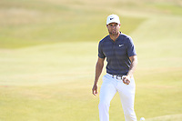 Lucas Bjerregaard (DEN) on the 10th fairway during Round 2 of the Dubai Duty Free Irish Open at Ballyliffin Golf Club, Donegal on Friday 6th July 2018.<br /> Picture:  Thos Caffrey / Golffile