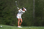 April 15, 2014; Bremerton, WA, USA; Pepperdine Waves golfer Grace Na during the WCC Golf Championships at Gold Mountain Golf Club.