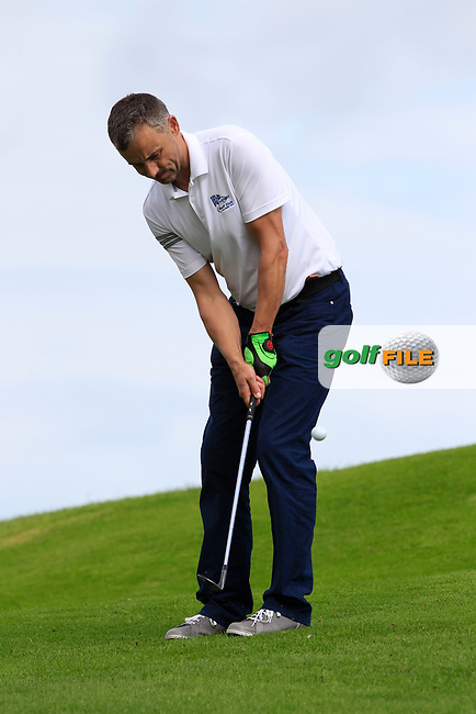 Bob Reilly (Athenry) during the final of the AIG Jimmy Bruen Shield Connacht Final, in Galway Bay Golf Club, Galway, Ireland. 12/08/2017<br /> Picture: Fran Caffrey / Golffile