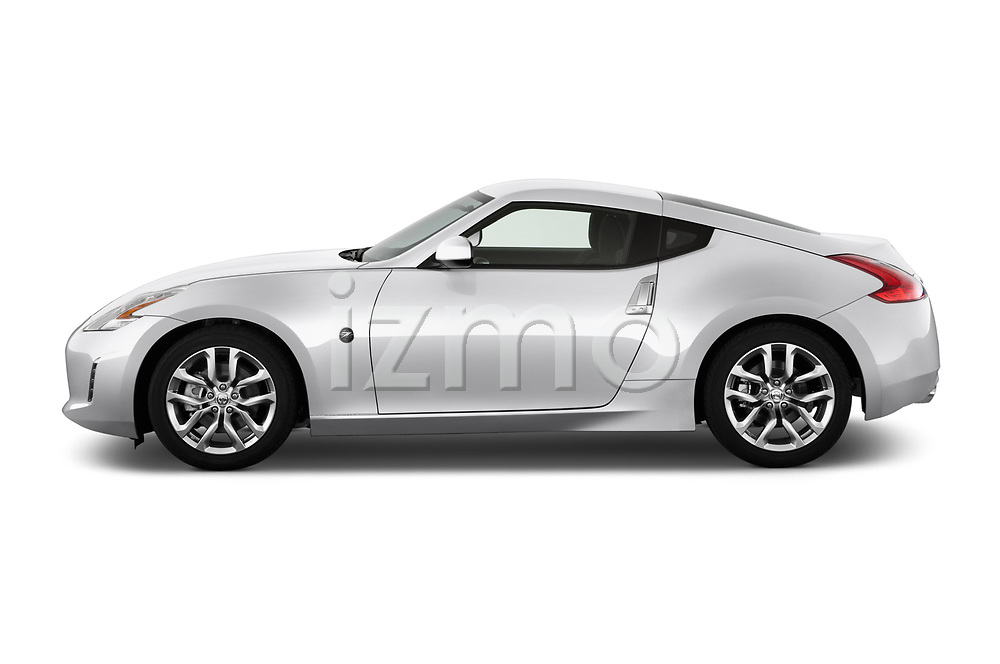 Driver side profile view of a <br /> 2013 Nissan 370Z Coupe