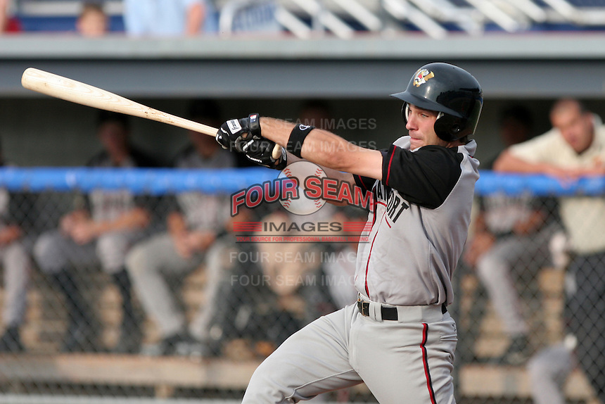 Williamsport Crosscutters James Negrych during a NY-Penn League game at Dwyer Stadium on July 2, 2006 in Batavia, New York.  (Mike Janes/Four Seam Images)