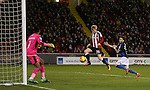 Mark Duffy of Sheffield Utd scores his second goal during the English League One match at Bramall Lane Stadium, Sheffield. Picture date: December 10th, 2016. Pic Simon Bellis/Sportimage