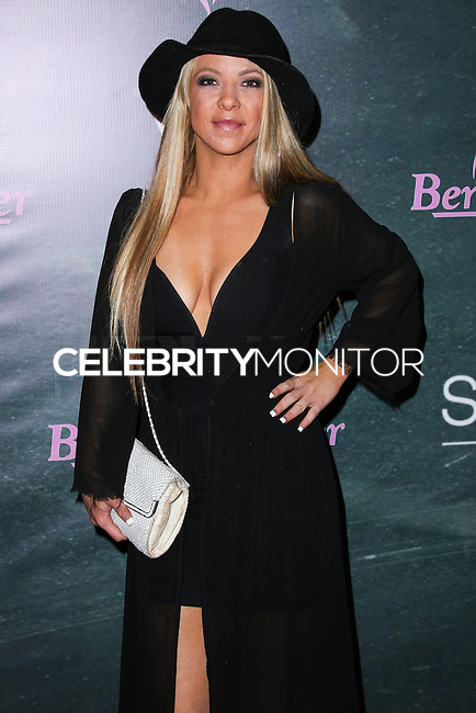 HOLLYWOOD, LOS ANGELES, CA, USA - AUGUST 28: Courtney Hyau arrives at the Benchwarmer Back To School Celebration to Benefit Children of the Night held at Station Hollywood at the W Hotel Hollywood on August 28, 2014 in Hollywood, Los Angeles, California, United States. (Photo by Xavier Collin/Celebrity Monitor)