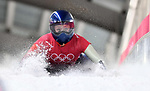 Laura Deas (GBR). Womens skeleton training. Pyeongchang2018 winter Olympics. Alpensia sliding centre. Alpensia. Gangneung. Republic of Korea. 12/02/2018. ~ MANDATORY CREDIT Garry Bowden/SIPPA - NO UNAUTHORISED USE - +44 7837 394578