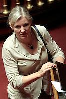 Josefa Idem.Roma 21/05/2013 Senato. Il Premier riferisce al Senato sul consiglio UE..Italian Premier's speech at the Senate about UE..Photo Samantha Zucchi Insidefoto