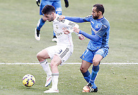 Getafe's  Diego Castro (r) and Real Madrid's Isco during La Liga match.January 18,2013. (ALTERPHOTOS/Acero) /NortePhoto<br /> NortePhoto.com
