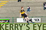 Colm Cooper warming up at the Dr Crokes game against Milltown in Killarney on Sunday