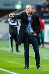 Solna 2013-09-30 Fotboll Allsvenskan AIK - &Ouml;sters IF :  <br /> &Ouml;ster tr&auml;nare Andreas Thomsson reagerar<br /> (Foto: Kenta J&ouml;nsson) Nyckelord:  portr&auml;tt portrait