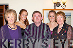Patricia, Karen McGillicuddy, John Ross, Marie McGillicuddy and Eileen Griffin Killorglin looking good at the Killorglin Rowing Club social in the Killarney Heights Hotel on Saturday night   Copyright Kerry's Eye 2008