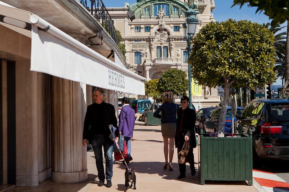 Avenue de Monte Carlo, Monte Carlo, Monaco, 21 March 2013