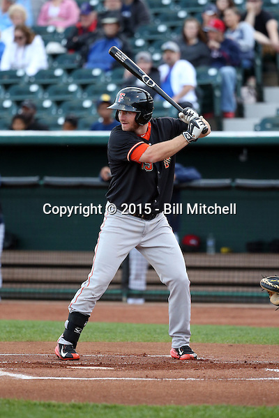 Robbie Grossman -2015 Fresno Grizzlies (Bill Mitchell)