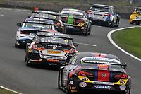 2019 British Touring Car Championship. Race 2. #27 Dan Cammish. Halfords Yuasa Racing. Honda Civic Type R.