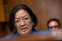 United States Senator Mazie Hirono (Democrat of Hawaii) speaks at the U.S. Senate Committee on the Judiciary hearing on Capitol Hill in Washington D.C., U.S. on July 31, 2019.<br /> <br /> Credit: Stefani Reynolds / CNP/AdMedia