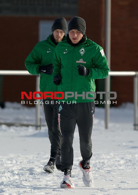 27.01.2014, Trainingsgelaende, Bremen, GER, 1.FBL, Training Werder Bremen, im Bild Philipp Bargfrede (Bremen #44)<br /> <br /> Foto &copy; nordphoto / Frisch
