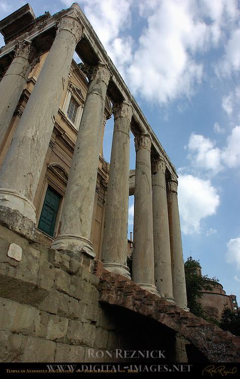 Temple of Antonius and Faustina Forum Romanum Rome