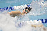 INDIANAPOLIS, IN - MARCH 18: Olivia Smoliga of the University of Georgia swims in the 100-yard freestyle during the Division I Women's Swimming & Diving Championships held at the Indiana University Natatorium on March 18, 2017 in Indianapolis, Indiana. (Photo by A.J. Mast/NCAA Photos via Getty Images)