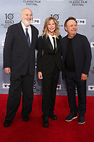 "11 April 2019 - Hollywood, California - Rob Reiner, Meg Ryan, Billy Crystal. 2019 10th Annual TCM Classic Film Festival - The 30th Anniversary Screening of ""When Harry Met Sally"" Opening Night  held at TCL Chinese Theatre. Photo Credit: Faye Sadou/AdMedia"