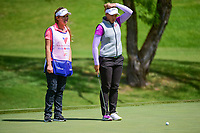 Brooke M. Henderson (CAN) lines up her putt on 12 during round 1 of  the Volunteers of America Texas Shootout Presented by JTBC, at the Las Colinas Country Club in Irving, Texas, USA. 4/27/2017.<br /> Picture: Golffile | Ken Murray<br /> <br /> <br /> All photo usage must carry mandatory copyright credit (&copy; Golffile | Ken Murray)